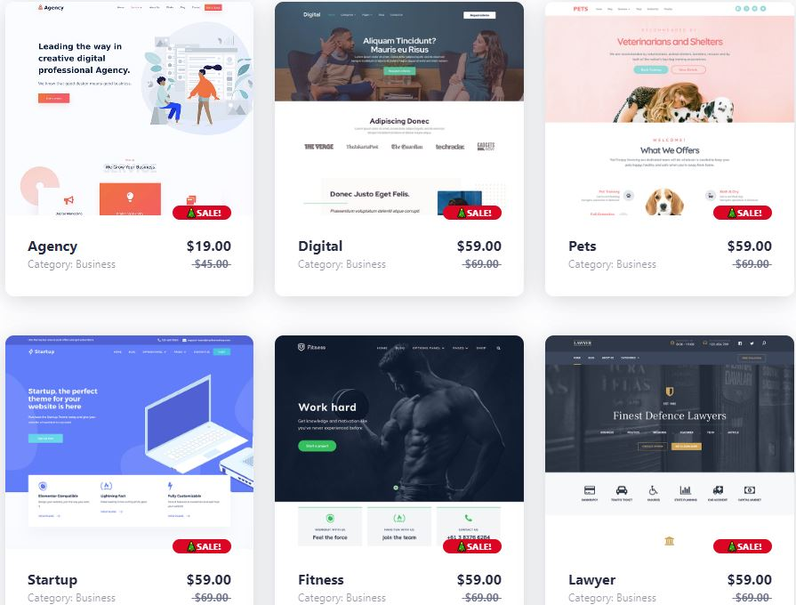 Rất nhiều mẫ giao diện theme làm trang giới thiệu công ty, dịch vụ tốt tại Mythemeshop cho bạn lựa chọn