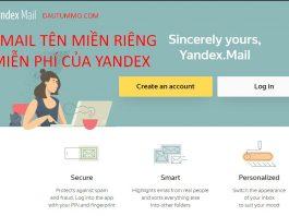 (2020) Cách tạo email tên miền riêng miễn phí với Yandex