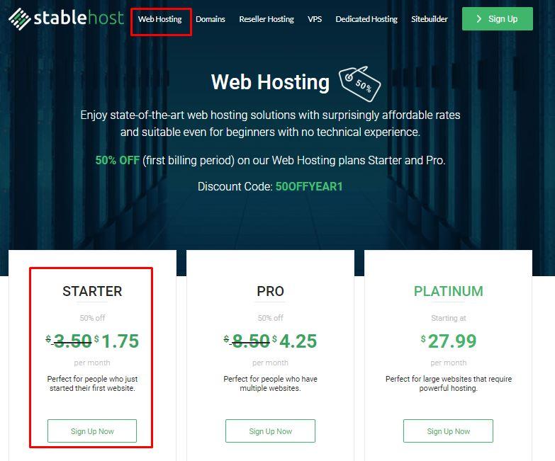 hướng dẫn đăng ký hosting tại stablehost bước 1