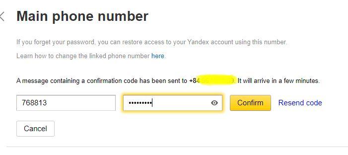 xác minh số điện thoại trên yandex toloka