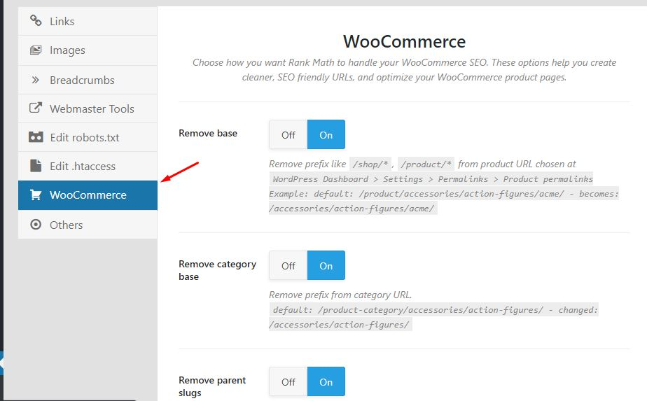 seo woocommerce rank math 1
