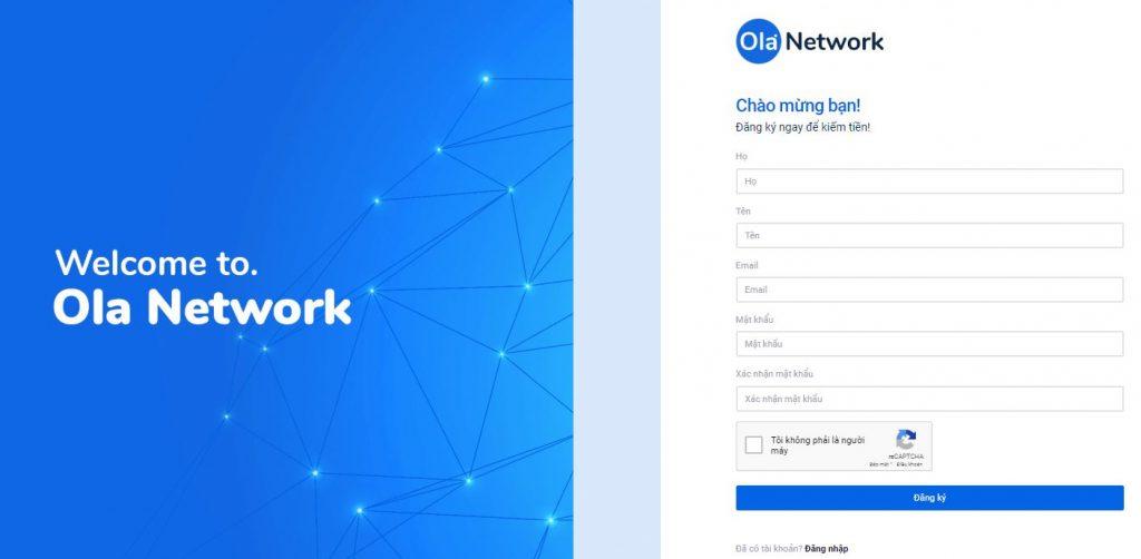 cách đăng ký tài khoản ola network 1 1