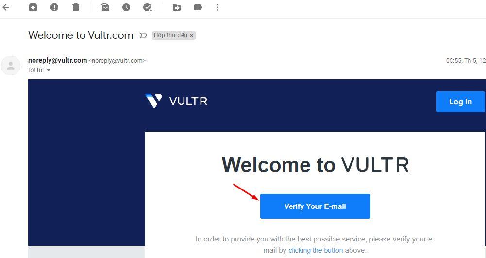 buoc 2 xac minh email tai vultr